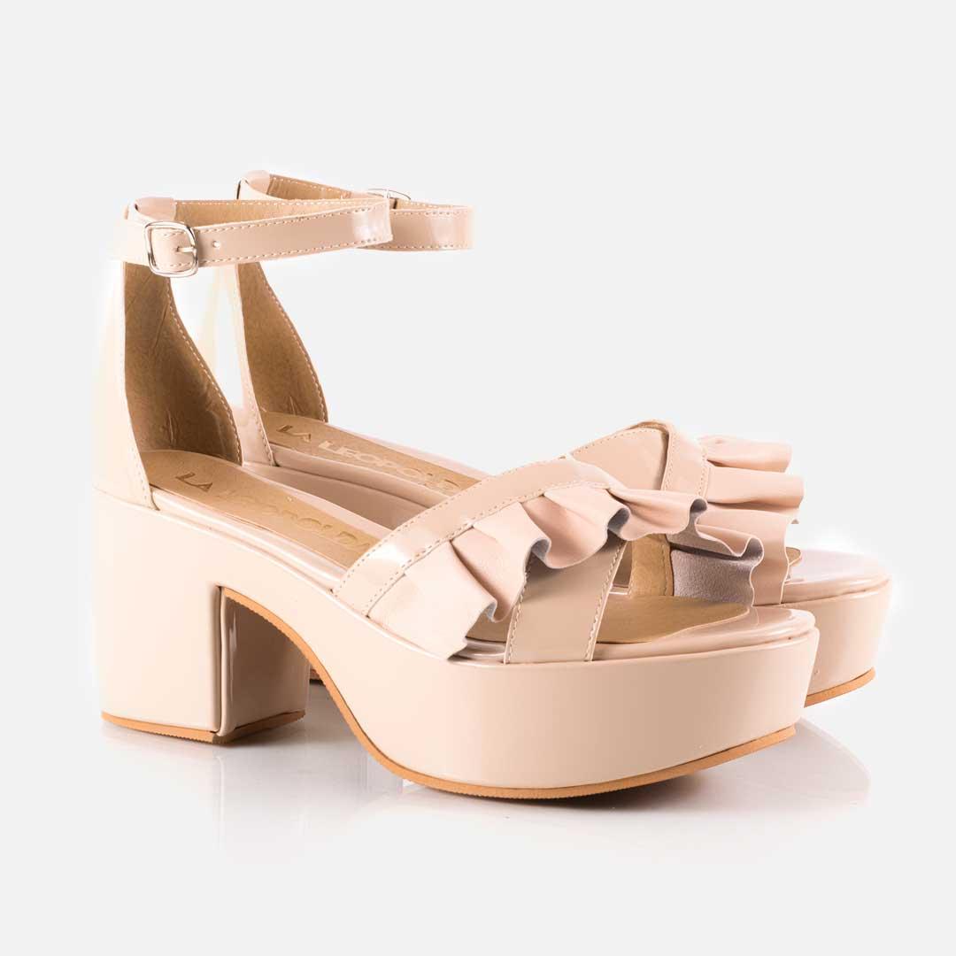 Sandalias con plataforma - nude 4ZHv2Wxl