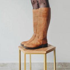 Botas-altas-de-montar-para-mujer-en-cuero-color-suela-Vega
