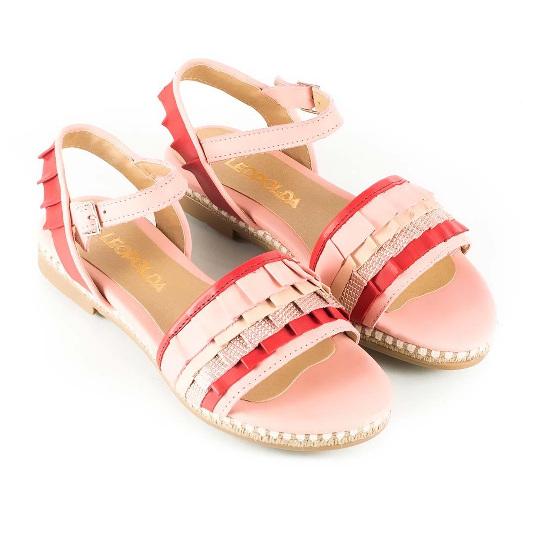 Sandalias-bajas-volados-rosa-Lulet