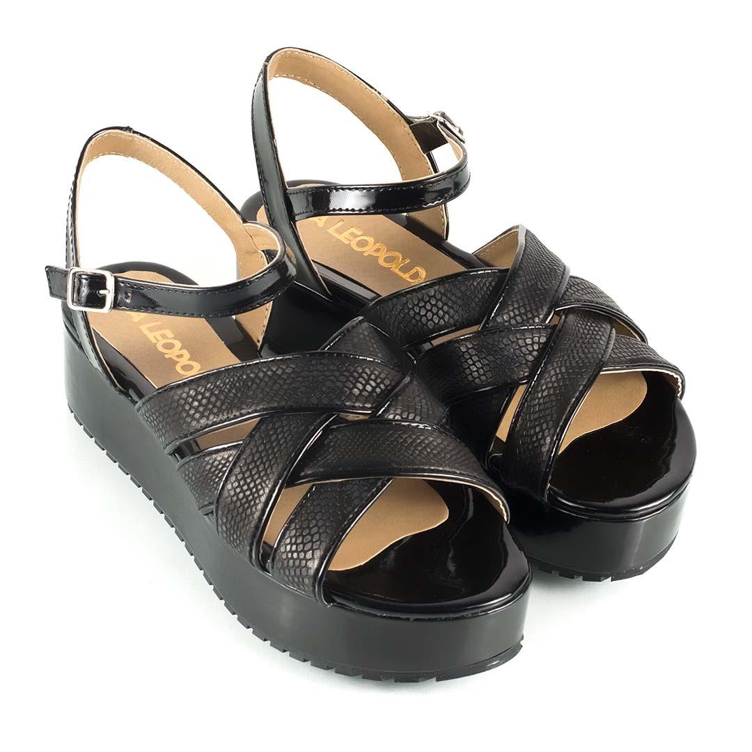 Sandalias-plataforma-charol-tiras-yute-negras-Gardenia