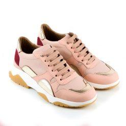 zapatillas-de-vestir-de-mujer-en-cuero-rosa-a-la-moda
