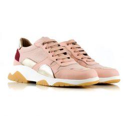 zapatillas-urbanas-de-mujer-en-cuero-rosa-a-la-moda